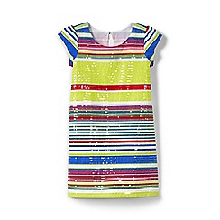 Lands' End - Girls' multicoloured regular sequin shift dress