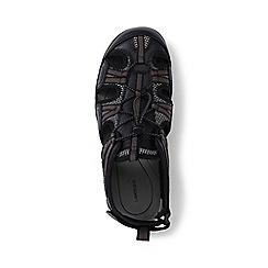 Lands' End - Black regular water sandals