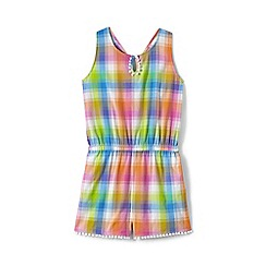 Lands' End - Girls' multicoloured playsuit