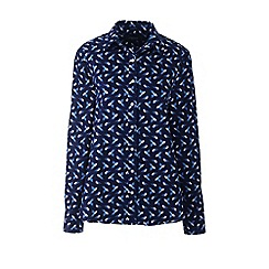 Lands' End - Multi petite classic fit print non-iron shirt