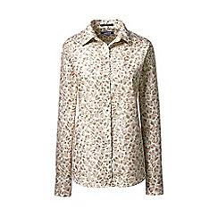 Lands' End - Multi plus classic fit print non-iron shirt
