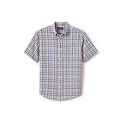 Lands' End - Multi regular short sleeve seersucker shirt