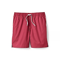 Lands' End - Red regular deck shorts