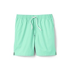 Lands' End - Cream regular deck shorts