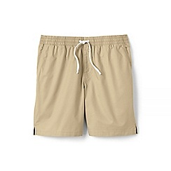 Lands' End - Beige regular deck shorts