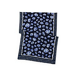 Lands' End - Blue seashell print scarf