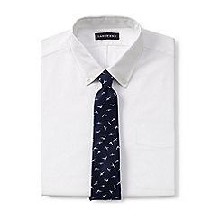 Lands' End - Blue seagull silk tie