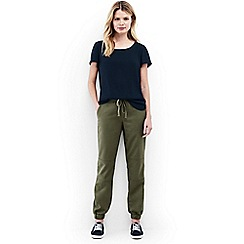 Lands' End - Green chino patch front joggers