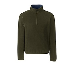 Lands' End - Green half-zip fleece top