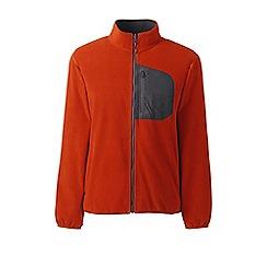 Lands' End - Brown midweight fleece jacket