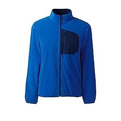 Lands' End - Blue midweight fleece jacket
