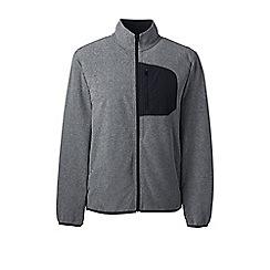 Lands' End - Grey midweight fleece jacket