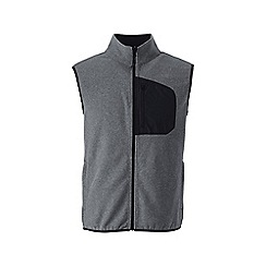 Lands' End - Grey midweight fleece gilet