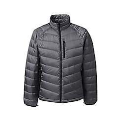Lands' End - Grey lightweight down jacket