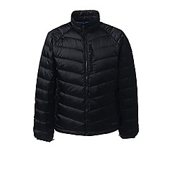 Lands' End - Black lightweight down jacket