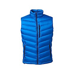 Lands' End - Blue lightweight down gilet