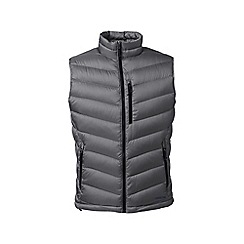 Lands' End - Grey lightweight down gilet