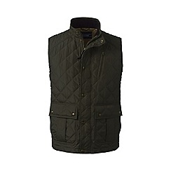 Lands' End - Green primaloft quilted gilet