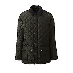 Lands' End - Green primaloft quilted coat