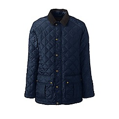 Lands' End - Blue primaloft quilted coat