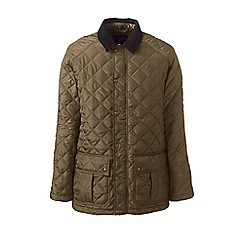 Lands' End - Brown primaloft quilted coat