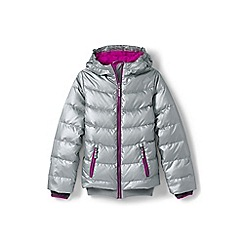 Lands' End - Girls' metallic down jacket