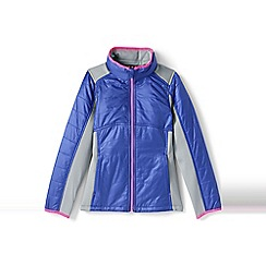Lands' End - Girls' multicoloured primaloft hybrid jacket