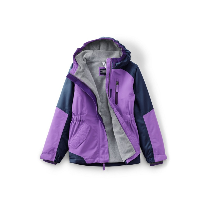 9cf30b367 Lands  End - Purple Girls  Squall Jacket - £50.40 - Bullring   Grand ...