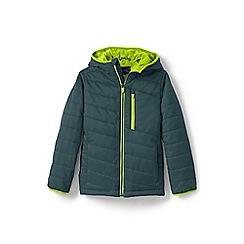 Lands' End - Toddler boys' blue packable primaloft jacket