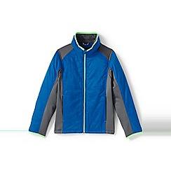 Lands' End - Boys' blue primaloft hybrid jacket