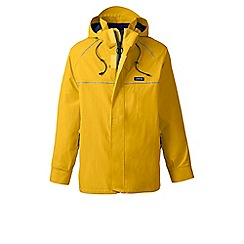 Lands' End - Orange squall system waterproof jacket