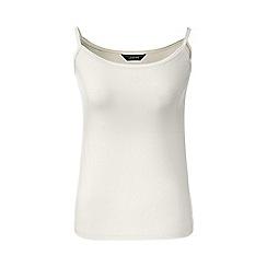 Lands' End - Cream micro modal camisole