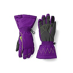 Lands' End - Girls' purple expedition gloves