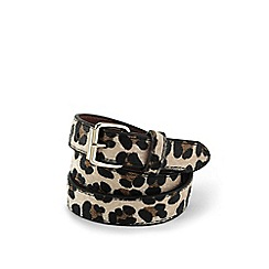 Lands' End - Girls' multicoloured animal print belt