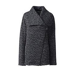 Lands' End - Black waterfall fleece jacket