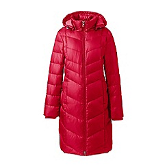 Lands' End - Red casual down coat