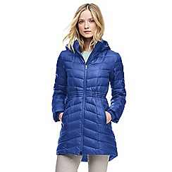 Lands' End - Blue casual down coat