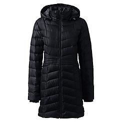 Lands' End - Black casual down coat