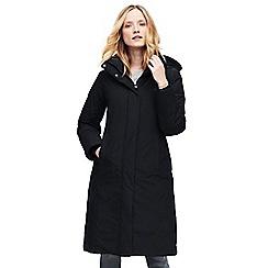 Lands' End - Black commuter down coat