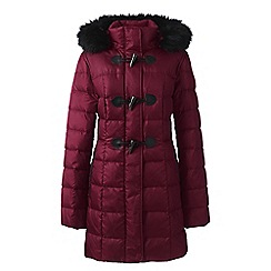 Lands' End - Red down duffle coat