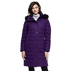 Lands' End - Purple luxe down coat