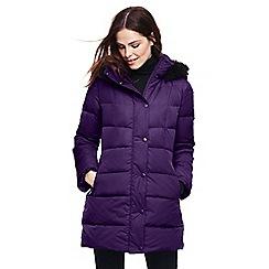 Lands' End - Purple refined down coat