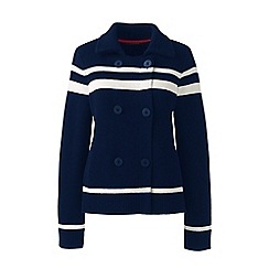 Lands' End - Multi merino blend peacoat