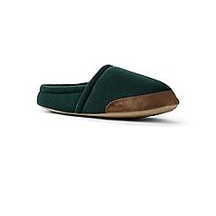 Lands' End - Green fleece slippers