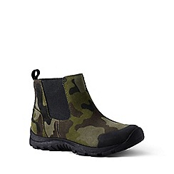 Lands' End - Dark green regular everyday suede boots