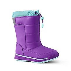 Lands' End - Dark purple snow flurry boots