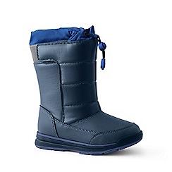 Lands' End - Dark blue snow flurry boots