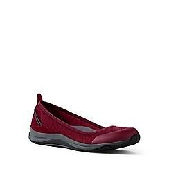 Lands' End - Red comfort ballet pumps