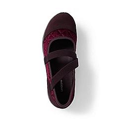 Lands' End - Red regular comfort mary jane shoes