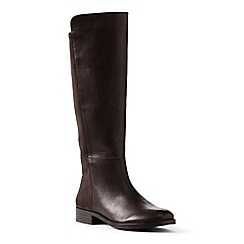 Lands' End - Brown regular leather/stretch boots